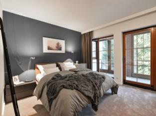 Ložnice s komfortním kobercem