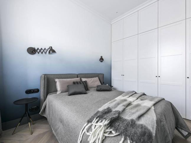 Byt ve Vilniusu - ložnice