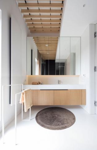 Apartmán Poznaň - koupelna