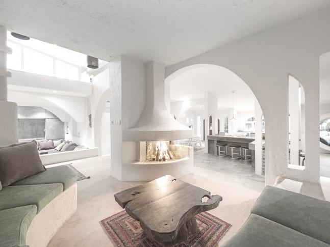 Ravanpak Villa - obývací pokoj