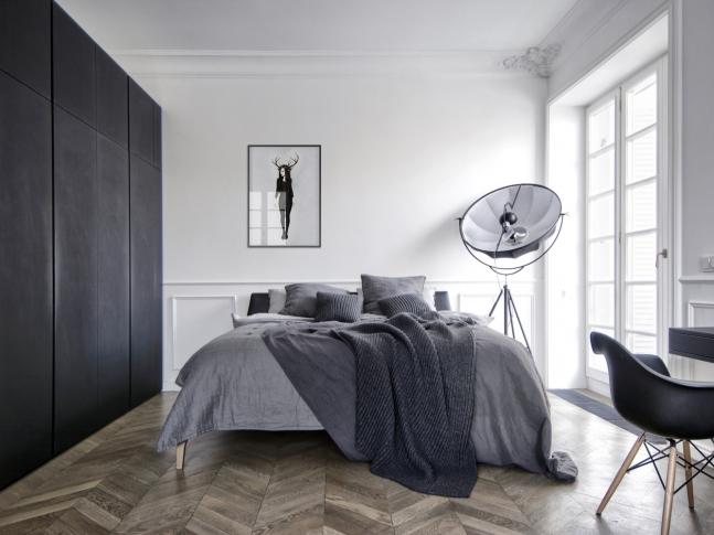 Interior AM - ložnice