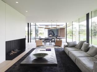 Rezidence VDB - obývací pokoj a jídelna