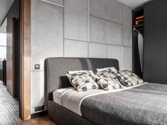 Byt pro pána nebo dva - ložnice