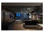 Ráj pro milovníky umění - obývací pokoj