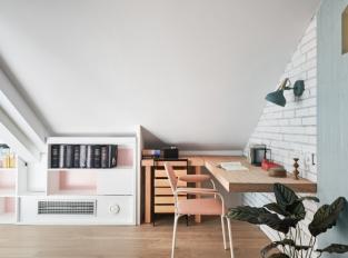 Starburst House - pracovna