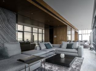 FHM Bachelor Apartment - obývací pokoj
