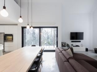 Villa Boreale - obývací pokoj, kuchyň