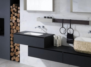 Koupelna SOFT NEGRO / ROBLE NOCHE