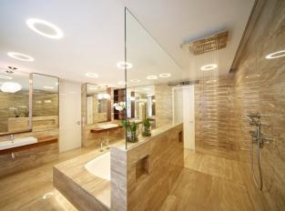 Koupelna v RD Praha 6