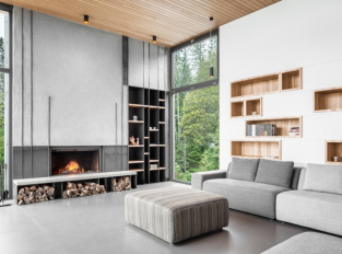 Long Horizontals - obývací pokoj