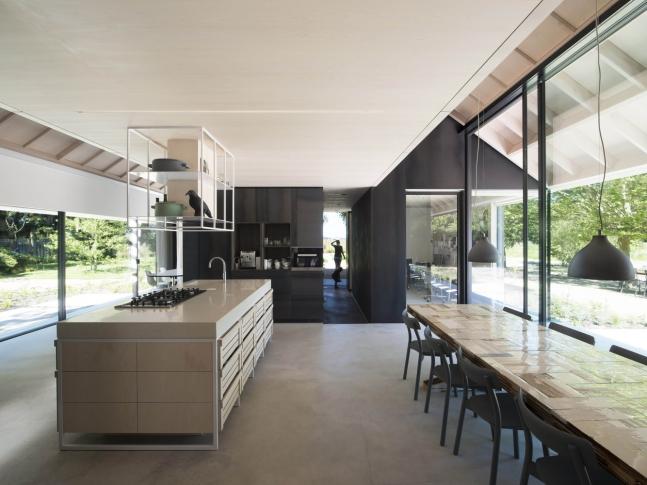 Villa Schoorl - obývací pokoj