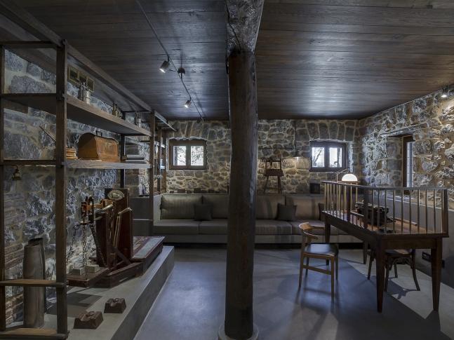 Rezidence v Parnassu - obývací část