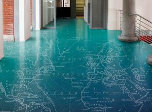Podlaha se vzorem na přání