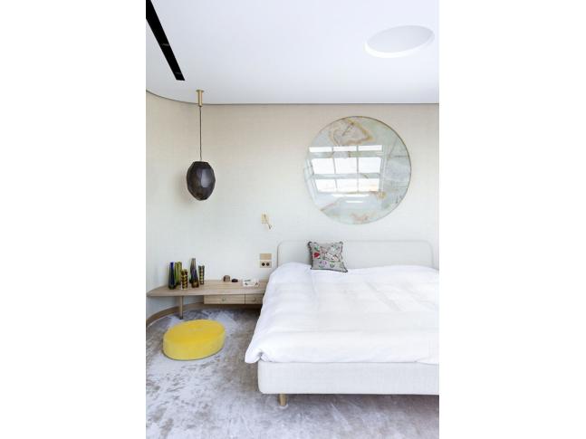 Ložnice bytu architektů A1
