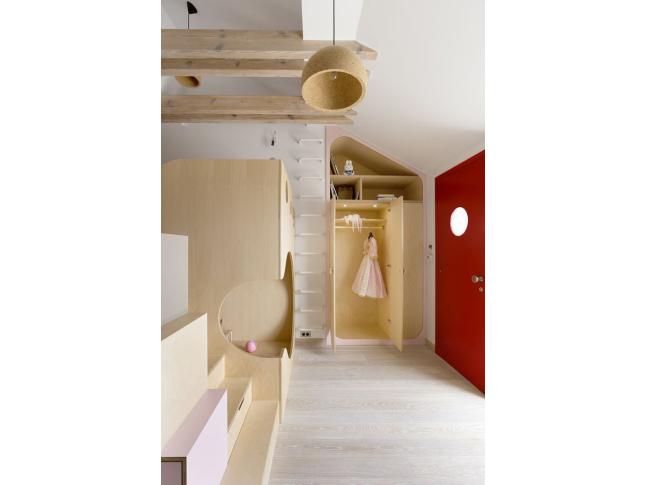 Dětský pokoj bytu architektů A1
