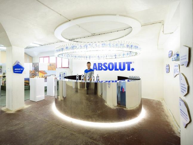 Absolut bar na Designblok 2013