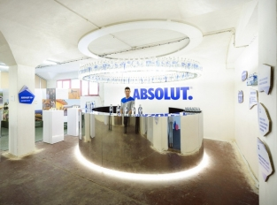 Absolut bar na Designblok 2013