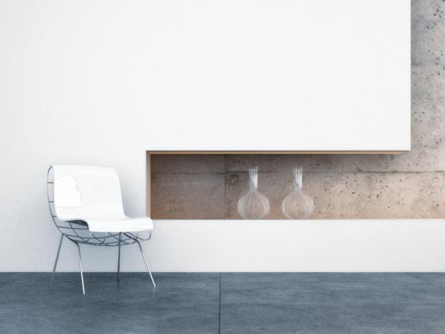 Barevná betonová podlaha