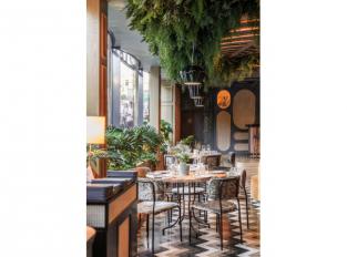 Příroda v restauraci Botania