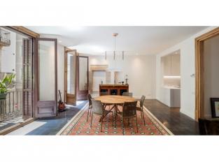 Obývací část bytu Carme
