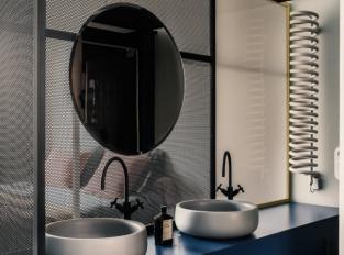 Pařížský byt - koupelna