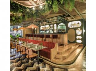 Bar v restauraci Botania