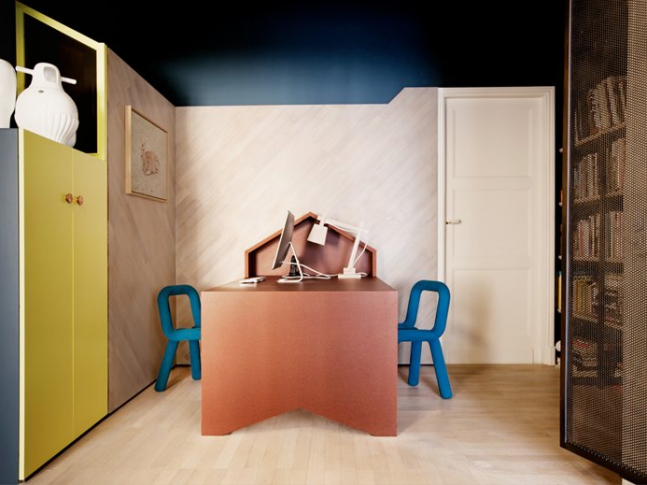 Pařížský byt - dětský pokoj