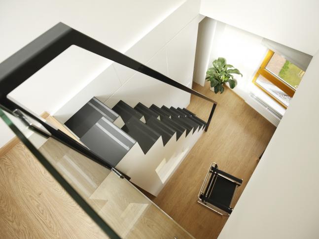 Byt v Praze 9 / schodiště Byt v Praze 9 / schodiště