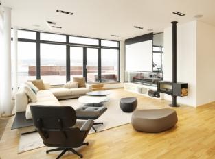 Praha 9 byt - obývací pokoj