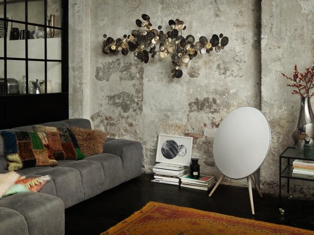 Eklektický obývací pokoj
