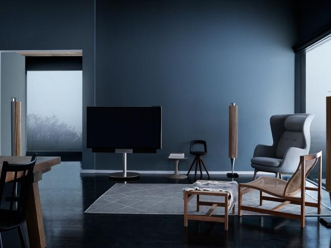 Multimediální obývací pokoj
