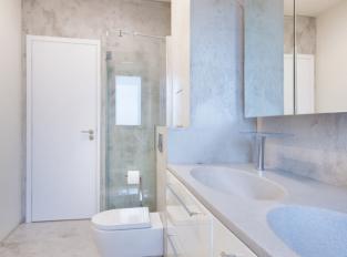 Betonepox v koupelně - Waltrovka