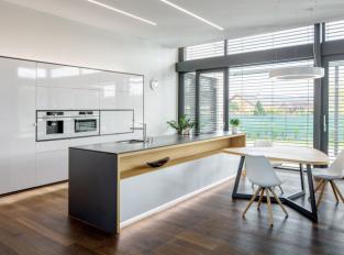 Rodinný dům Černošice - kuchyň