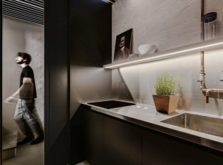 Byt Brolettouno - kuchyň