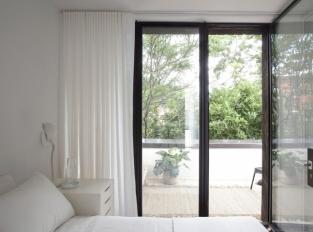 Brooklynský řadový domek - ložnice