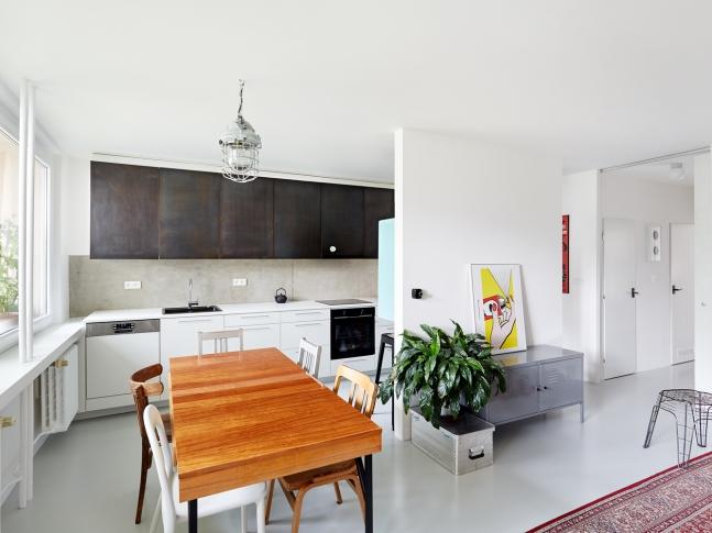 Rekonstrukce bytu ve Vysočanech