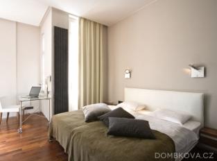 Byt pro workoholika na Praze 1 / ložnice