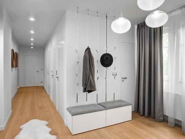 Minimalistický byt vLiberci