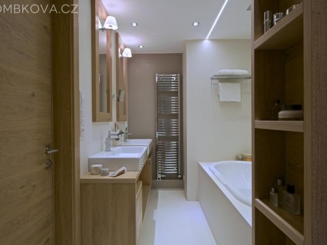 Byt v Praze - koupelna