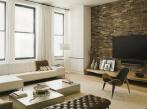 Greenwich Village Loft - obývací pokoj Loft Green Village, NYC - obývací pokoj