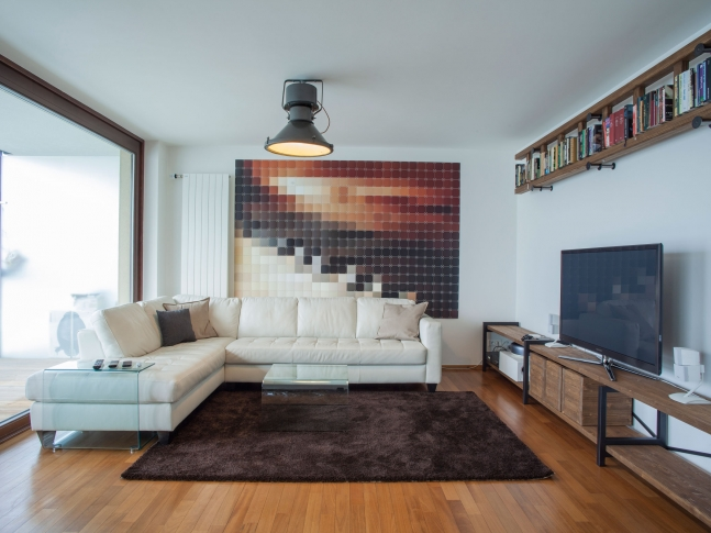 Cornlofts by B² - obývací pokoj Cornlofts - obývací pokoj