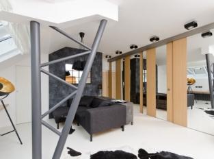 Mostecká / obývací pokoj