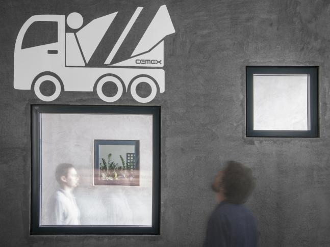 Beton jako koncept, kanceláře Cemex DSC_0192