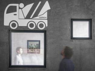 Beton jako koncept, kanceláře Cemex