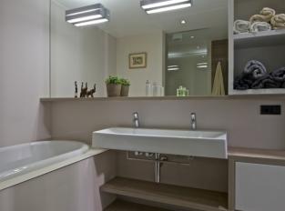 Byt na severu Čech - koupelna