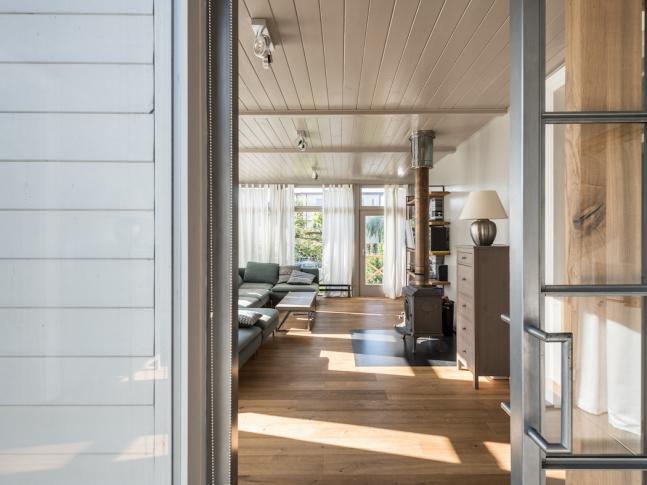 Dům na Moravě - obývací pokoj