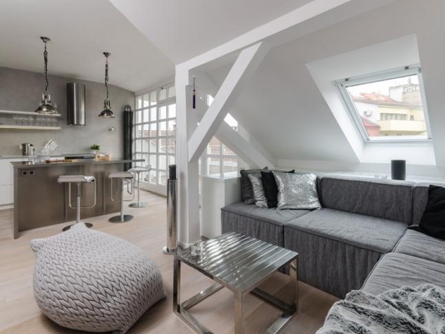 Ostrovského / obývací pokoj