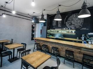 Kavárna INDUSTRA COFFEE