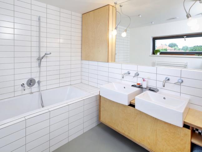 Bohumileč - koupelna Dům v Hradci Králové - koupelna