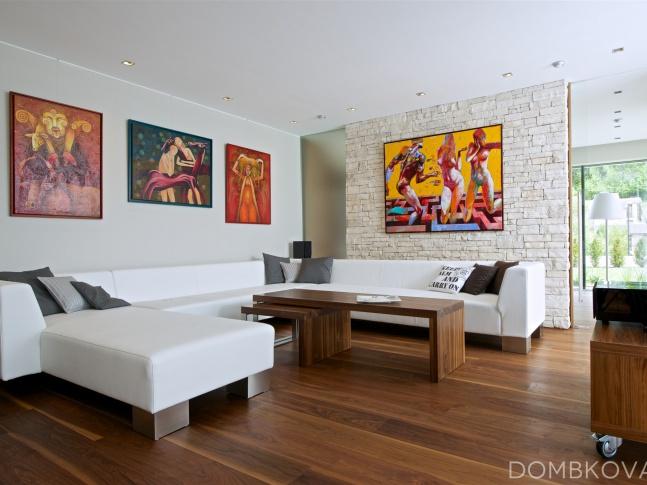 Dům v údolí - obývací pokoj Dům v údolí - obývací pokoj